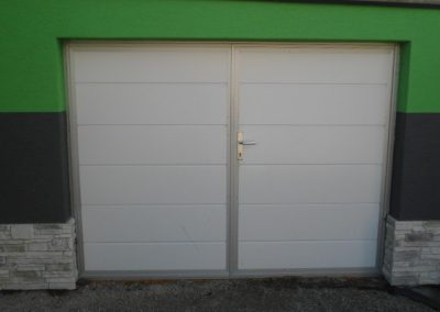 Dvojkrídlové garážové brány